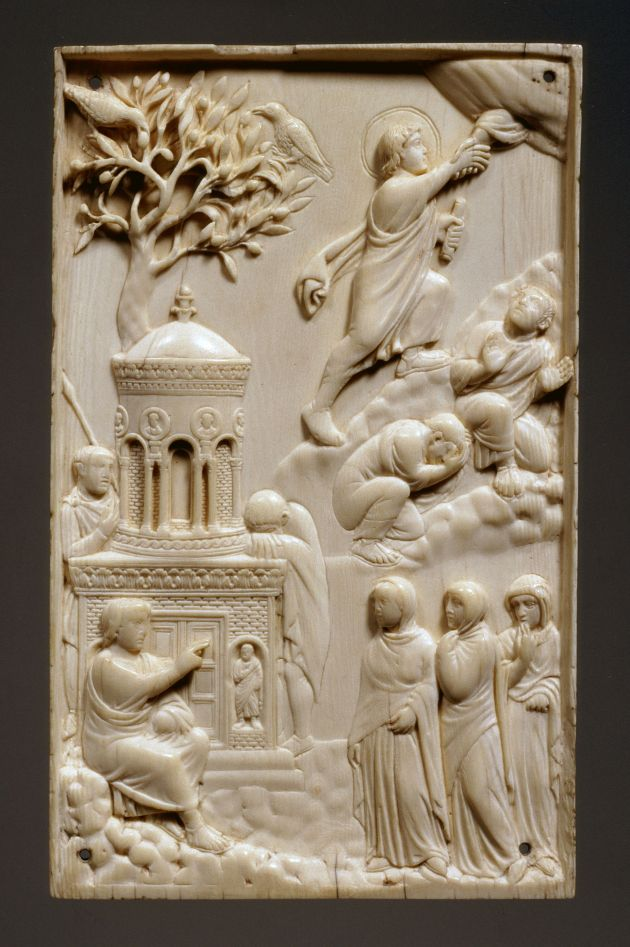 Acts of witnessing the munich ivory ascension