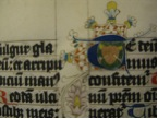 "Figure 5. Initial ""T"", detail (Houghton LIbrary MS Typ 197), fol.  131."