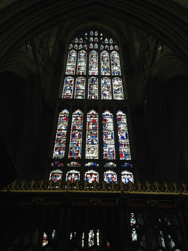 Photograph of St. William Window, York Minster.